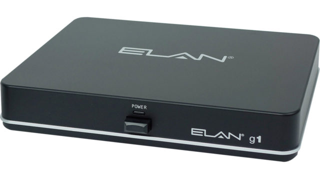 Elan G1 Front