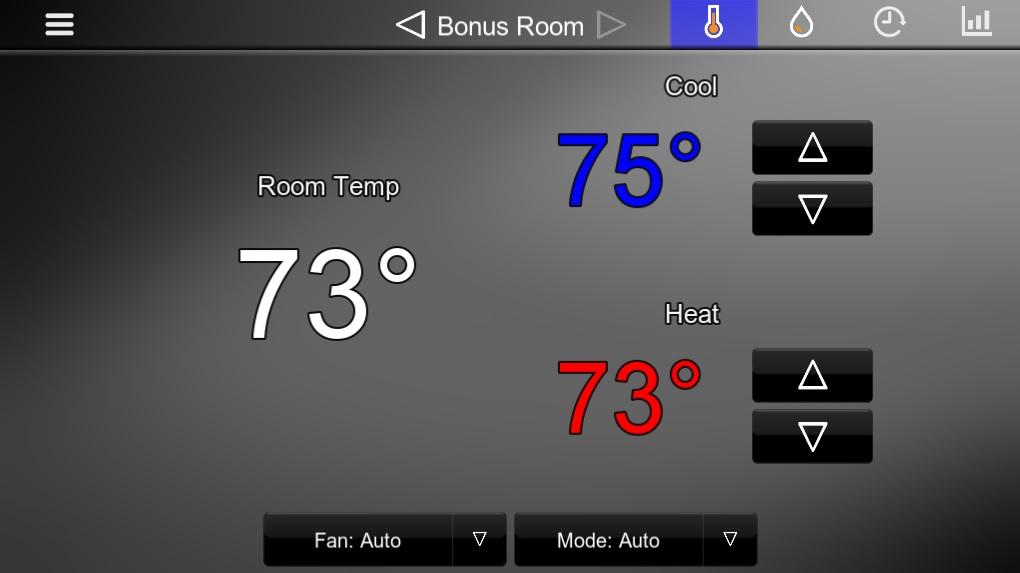 Cool Room Temperature Range