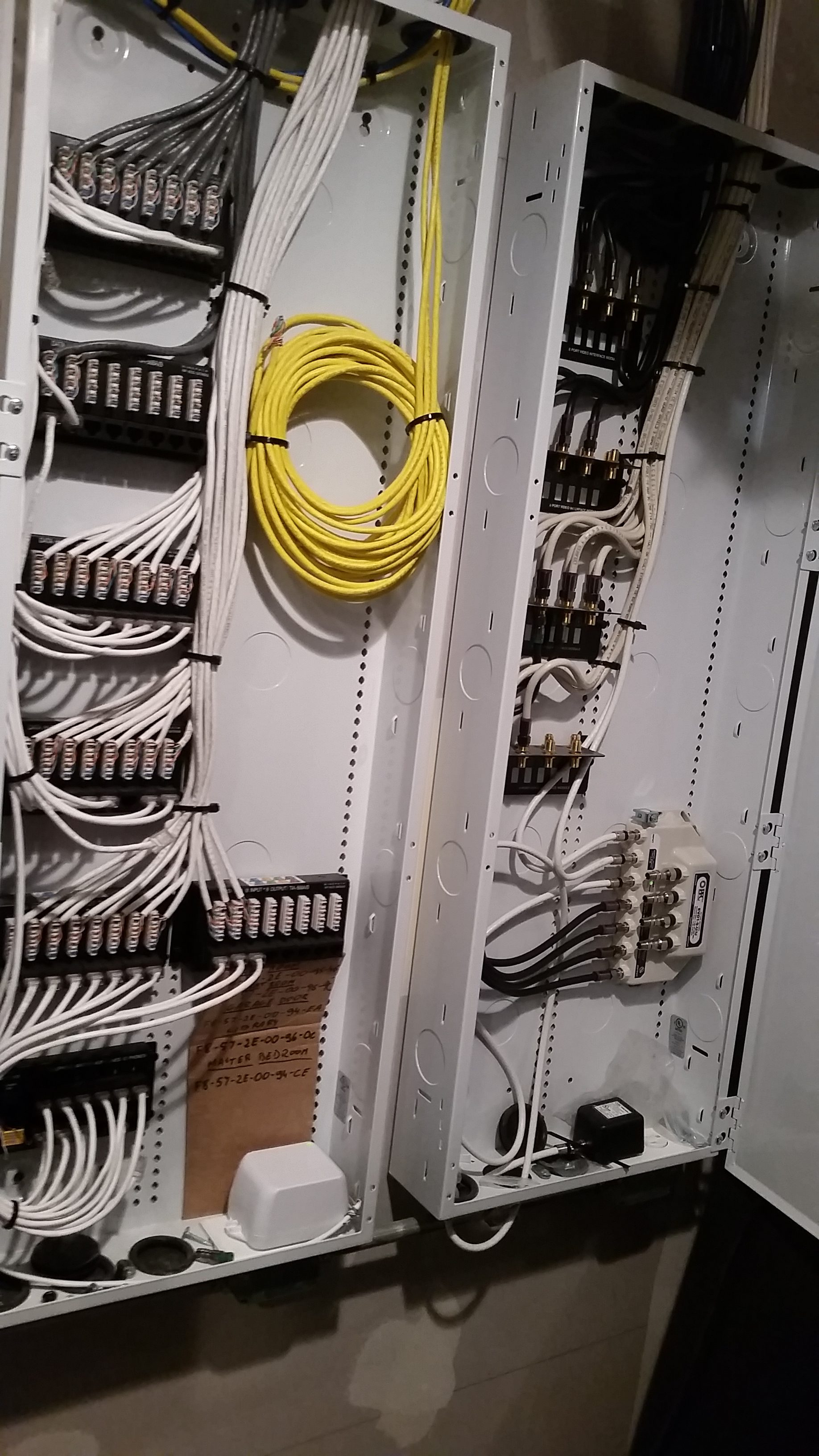 low voltage wiring how to wire a structured cabling. Black Bedroom Furniture Sets. Home Design Ideas