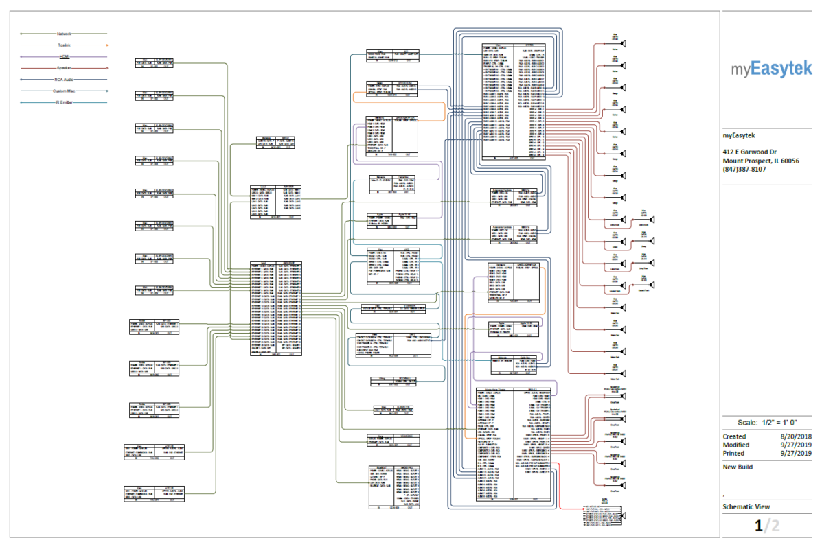 sample smart home wiring schematics