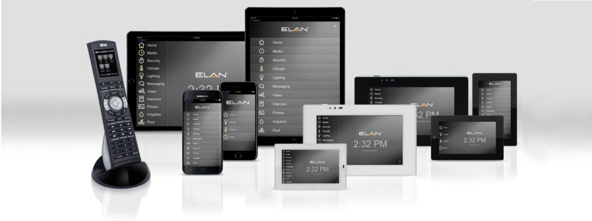 User Interfaces - Elan Home Systems Review