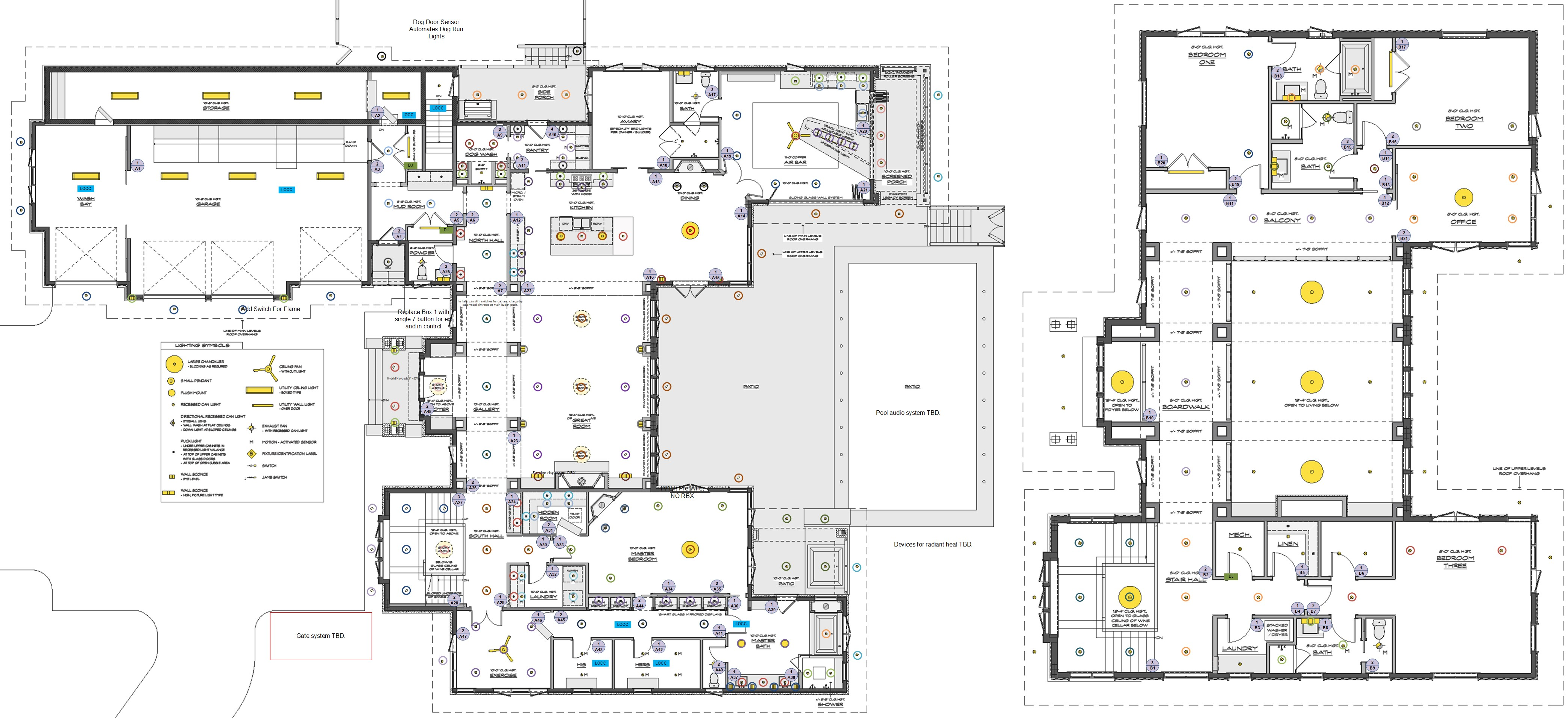 Lutron RadioRA 2 Lighting Design Plan