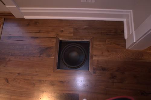 Polk Audio CSW200 - Hidden In Floor Subwoofer